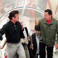 Hugo Chavez et Sean Penn à Cumana le 19 octobre 2008