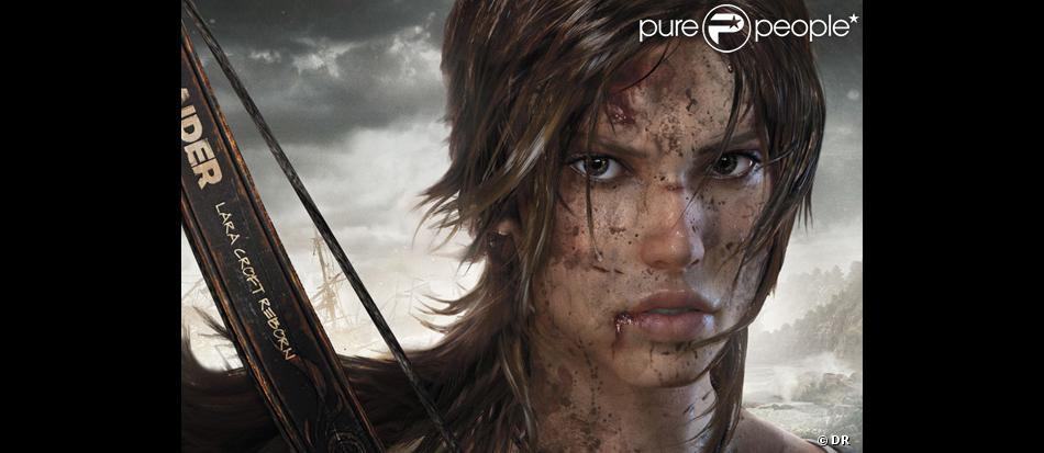 Image du nouveau jeu Reboot, avec Lara Croft.