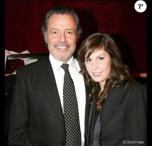 Fanny Leeb et Michel Leeb en novembre 2005 à Paris