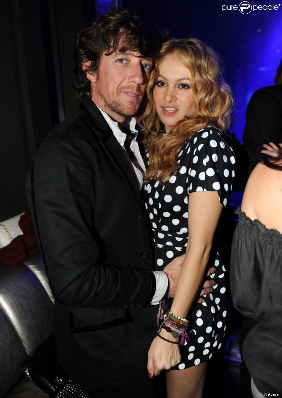 Paulina Rubio et   Nicolas   Vallejo - Nágerá   au concert de Jennifer Lopez à Miami, le 6 février2010.