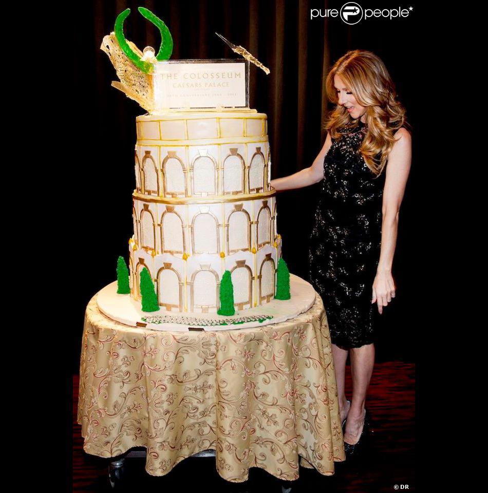Céline Dion a fêté les 10 ans de son show à Las Vegas, en mars 2013.