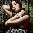 Affiche du film Gatsby le Magnifique de Baz Luhrmannavec Elizabeth Debicki