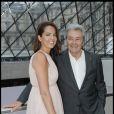 Alain Delon et sa fille Anouchka en juin 2012.