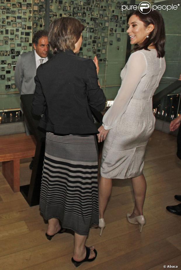 Princess Mary uczestniczył w otwarciu konferencji na duńsko-chilijskich Praw Edukacyjnych.  Z tej okazji, Duński Instytut Praw Człowieka uruchomiła nowe materiały szkoleniowe.  Po ceremonii otwarcia, księżniczka odwiedziła muzeum stałą wystawę, która odzwierciedla się łamania praw człowieka, które miały miejsce w czasie dyktatury wojskowej 1973/90 pod Augusto Pinocheta.