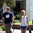 Britney Spears avec son nouveau boyfriend, le 15 mars 2013 à Thousand Oaks.