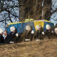 Funérailles de la princesse Lilian de Suède, le 16 mars 2013 à Stockholm au cimetiere du parc Haga