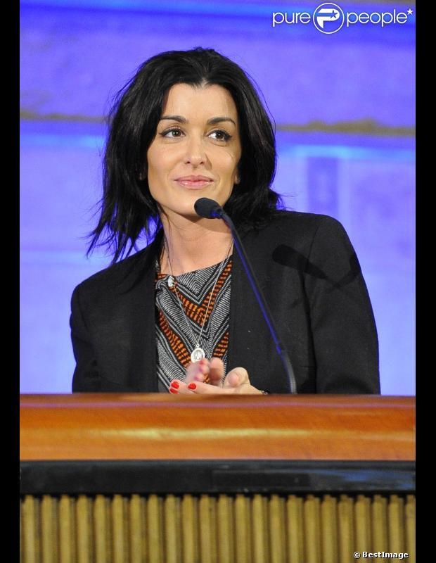 Jenifer en février 2013 à Paris
