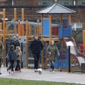 Chris Martin : Virée avec ses enfants et Faith Hill sous la grisaille de Londres