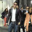 Cristiano Ronaldo avait fait un effort vestimentaire pour recevoir le prix Di Stefano qui récompense le meilleur joueur de la saison passée du championnat espagnol lors des Trofeos Marca qui se déroulaient au palais de Cibeles à Madrid le 18 mars 2013