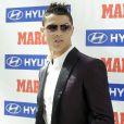 Cristiano Ronaldo a reçu le prix Di Stefano qui récompense le meilleur joueur de la saison passée du championnat espagnol lors des Trofeos Marca qui se déroulaient au palais de Cibeles à Madrid le 18 mars 2013