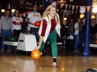Princesse Maxima : Reine (bénévole) du bowling au côté de son prince