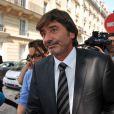 L'ex-numéro 2 de la PJ lyonnaise Michel Neyret, ici à Paris le 4 septembre 2012, veut porter plainte contre Le Progrès et François Cluzet.