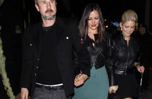 David Arquette et sa chérie accueillent James Van Der Beek et sa Kimberly