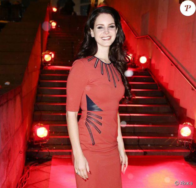 Lana Del Rey au dîner de charité Music Helps qui s'est déroulé lors des Echo Awards 2013 à Berlin, le 20 mars 2013.