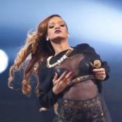 Rihanna bouillante dès les premières minutes de son Diamonds World Tour...