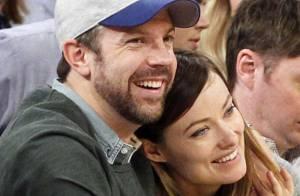 Olivia Wilde et Jason Sudeikis : Fiancés radieux et amoureux du basket