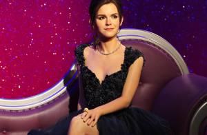 Emma Watson : Vieillie et glamour pour un double de cire peu ressemblant