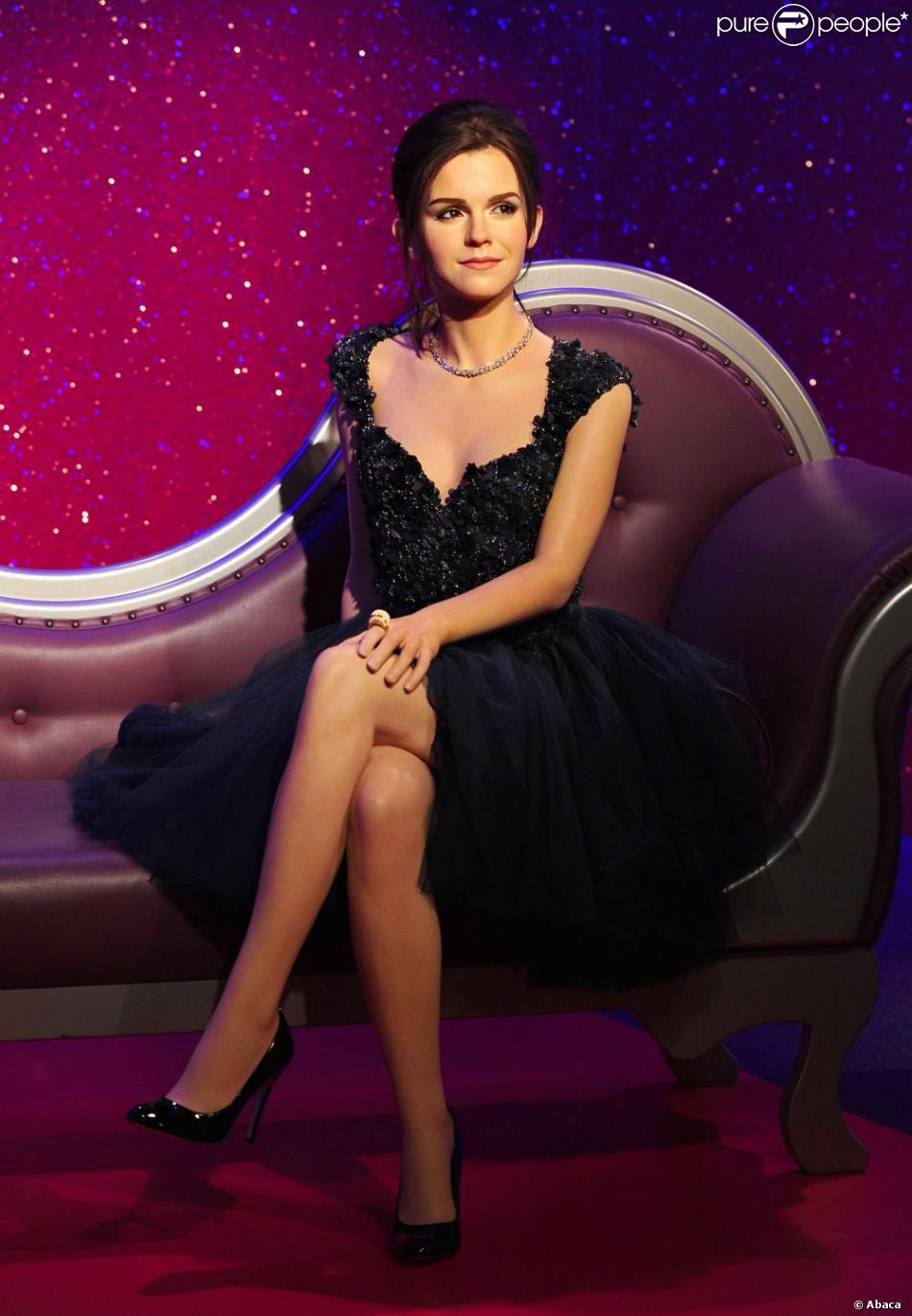 La statue de cire d'Emma Watson au Madame Tussauds de Londres, le 26 mars 2013.
