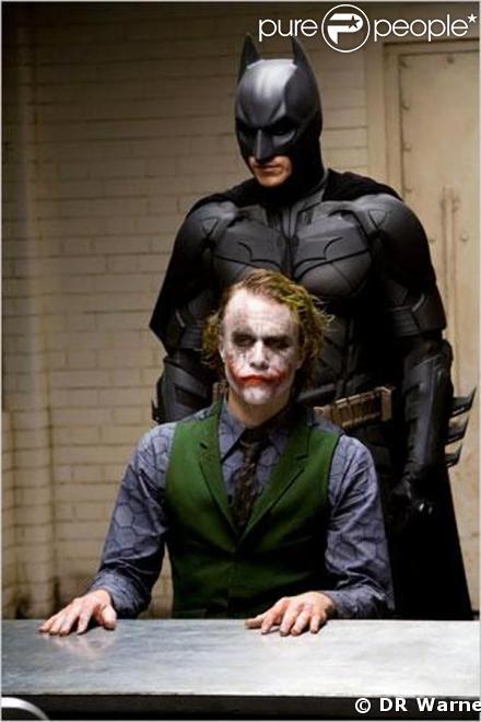 Heath Ledger et Batman à découvrir bientôt