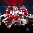 La chanteuse Madonna en concert au Rogers Arena à Vancouver, au Canada, le 29 septembre 2012.