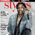"""A$AP Rocky en couverture du magazine L'Express Styles n°3219."""