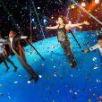 Sofia Essaïdi, Amelle Chahbi, Claudia Tagbo et Ary Abittan dans le prime de Vendredi tout est permis, diffusé le 19 avril 2013 sur TF1