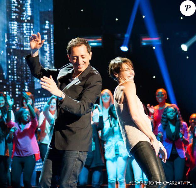 Gad Elmaleh et Alessandra Sublet dans le prime de Vendredi tout est permis, diffusé le 19 avril 2013 sur TF1