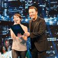 Alessandra Sublet et Arthur dans le prime de Vendredi tout est permis, diffusé le 19 avril 2013 sur TF1