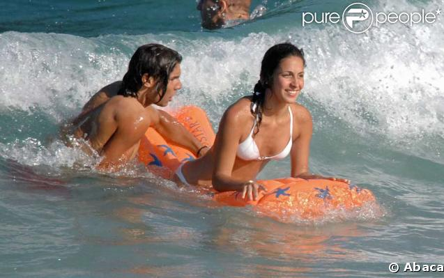 rafael nadal girlfriend 2007. Rafael Nadal et sa girlfriend