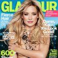 Kate Hudson nue en couverture du magazine Glamour US pour le mois d'avril 2013.