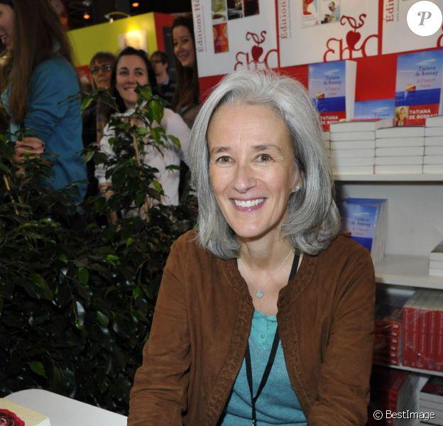 L'auteur Tatiana de Rosnay à la 33e édition du Salon du Livre, porte de Versailles à Paris, le 22 mars 2013.