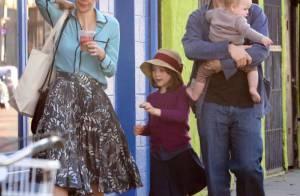 Maggie Gyllenhaal : Maman cool et fashion pour une virée shopping en famille