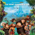 Affiche officielle du film Les Croods.