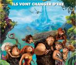 Affiche officielle du film Les Croods.