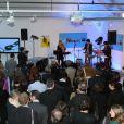 Exclusif - - Prix de la BD Fnac a l'espace Commines avec le discours du PDG de de la Fnac Alexandre Bompard et remise du prix au laureat par Riad Sattouf parrain de la ceremonie et showcase de Barbara Carlotti a Paris le 9 avril 2013.09/04/2013 - Paris