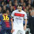 Javier Pastore lors du match entre le Paris Saint-Germain et le FC Barcelone au Camp Nou de Barcelone le 10 avril 2013 en quart de finale de Ligue des Champions (1-1)