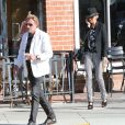 Exclu - Johnny Hallyday et sa femme Laeticia à Beverly Hills, le 9 avril 2013.