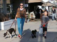 Sharon Stone : Au naturel et sans son toyboy, elle profite de son fils Quinn