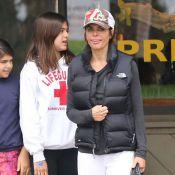 Lisa Rinna : Sportive et décontractée, en famille, la bombe se laisse aller !