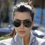 Kim Kardashian : Sportive motivée et jalouse de sa petite soeur Kendall