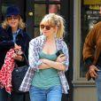 Sienna Miller dans les rues de New York, le 17 avril 2013.