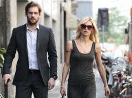 Michelle Hunziker enceinte : Ventre apparent et séance shopping avec son fiancé