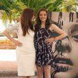 Julianne Moore et Chloë Moretz au photocall de Carrie à Cancun, Mexique, le 18 avril 2013.