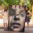 Julianne Moore et Chloë Grace Moretz assure le photocall de Carrie à Cancun, Mexique, le 18 avril 2013.