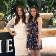 Julianne Moore et Chloë Grace Moretz pendant le photocall de Carrie à Cancun, Mexique, le 18 avril 2013.