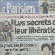 Le Parisien du samedi 20 avril 2012 annonce le retour des Inconnus.