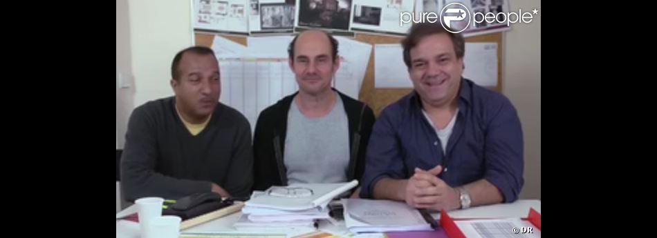 Les Inconnus se sont confiés au journal Le Parisien, le samedi 20 avril 2013 pour annoncer leur retour.