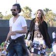 Mischa Barton au festival de musique de Coachella, le 19 avril 2013