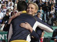 Charlene de Monaco: Un autre câlin à Djokovic, héros de Monte-Carlo face à Nadal