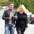 Michael Bublé et sa femme Luisana Lopilato en sortie en amoureux, à Vancouver, le 19 avril 2013.